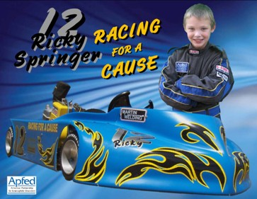 Ricky Springer: Racing For A Cause