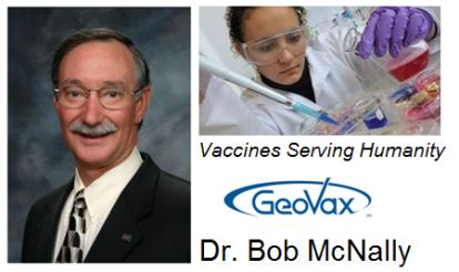 Dr. Bob McNally: GeoVax