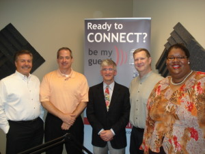 Dominick Rainey, Cary Ichter, Dr. Paul Feldman, Tom Leatherberry, Nikole Toptas
