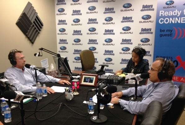 Joey Dennis and Joe Moss on Business RadioX