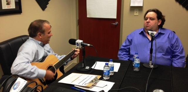 Joe Moss jamming on Business RadioX