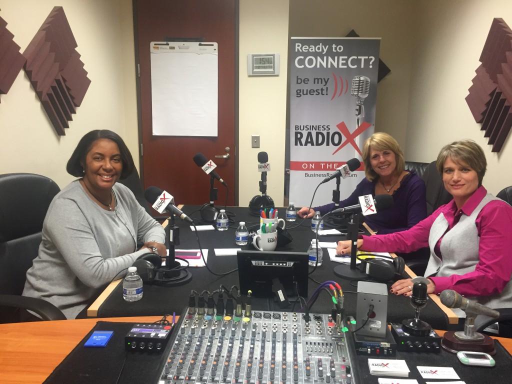 Sandy Welfare, Janet Barnard, Jackie Breiter