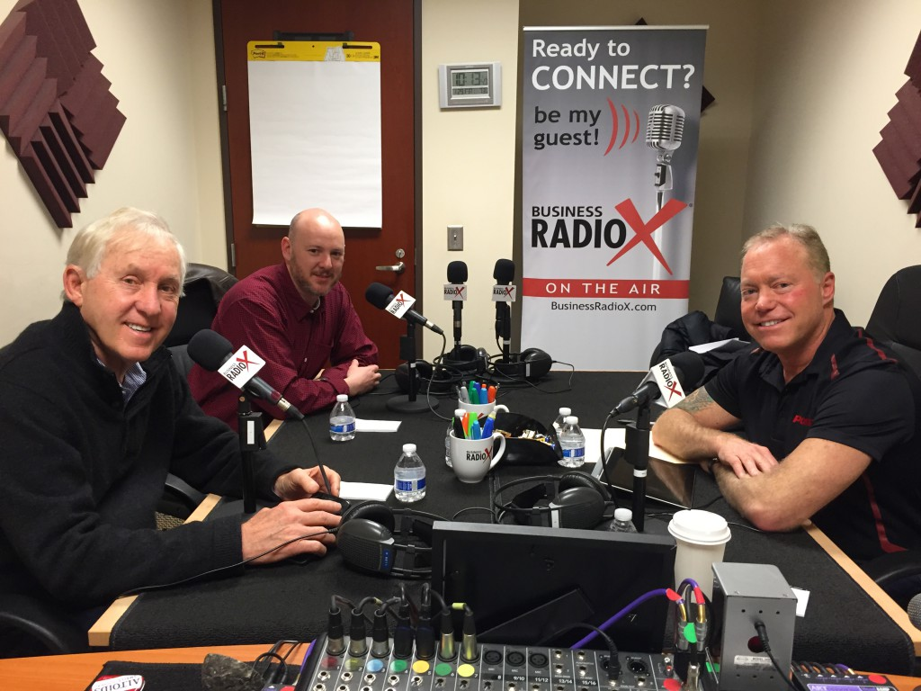 Fran Tarkenton, Kevin Center and Steve Greenbaum