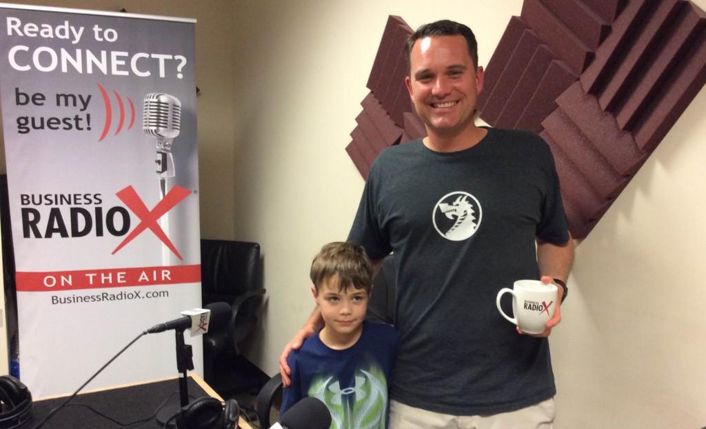 Jeff Hilimire with his nephew Logan
