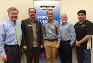 John Ray, Gregg Burkhalter, Mayor David Belle Isle, Dale Sizemore, Mike Sammond