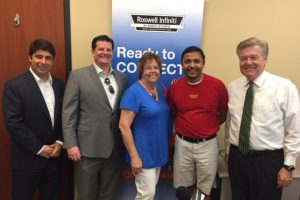 Mike Sammond, Pat O'Rourke, Mary Becker, Nick Patel, John Ray