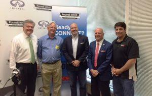 John Ray, Mayor Jere Wood, Steve Schilling, Dr. Glenn Cannon, Mike Sammond