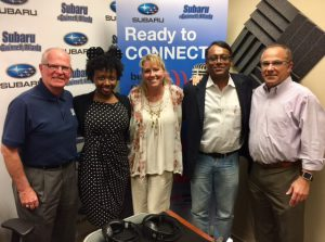 Johnny Phelps, Courtney Spencer, Dawn Poplawski, Neel Majumdar, Joe Moss