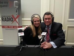 Booth 61 at Atlanta CEO Council with Margaret Martin 3 03 2014