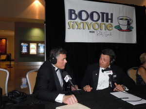 Booth 61 at Digital Ball 2014 with Jay  Ferro 5 3 2014