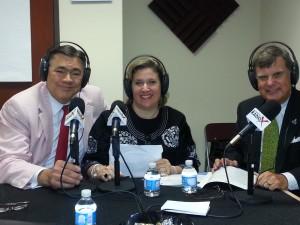 Booth 61 with Ed Helton and Kim Rozycki 7 16 2014