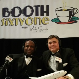 Michael Williams in Booth 61 at 2015 Digital Ball 5 09 2015 (2)