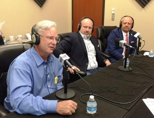 Mayor Wood, Steve Schilling, Dr. Cannon